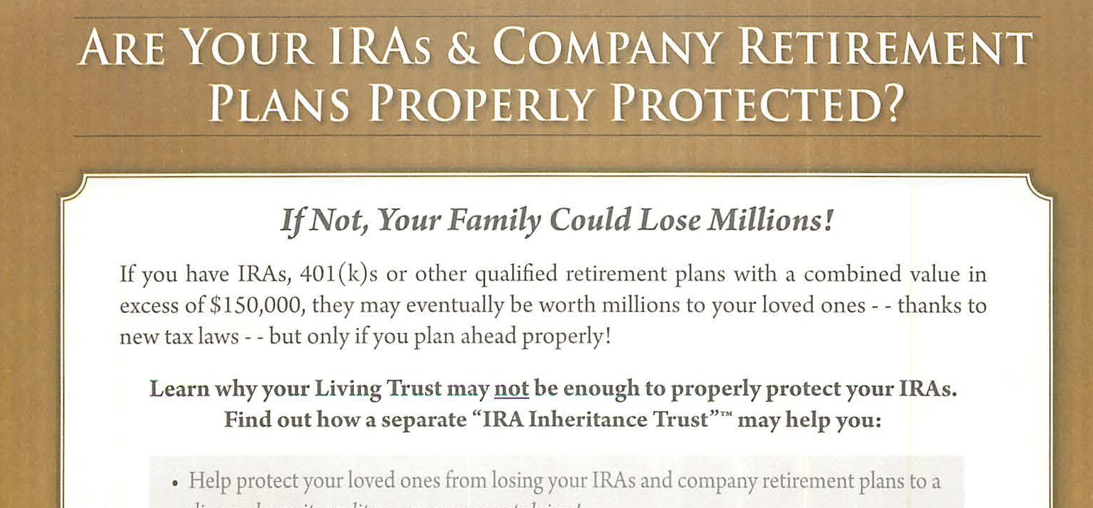Are You Avoiding Common IRA Mistakes?